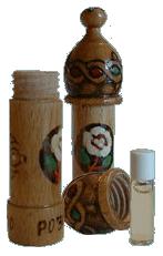 rose oil vial