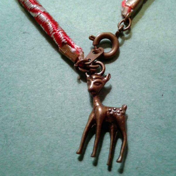 martenitsa bracelet with a deer