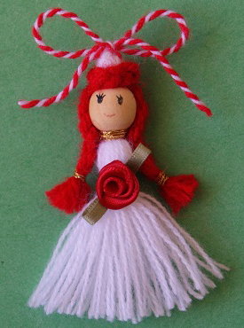 Martenitsa Penda with Rose