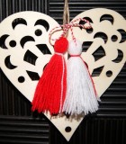 Wall Decor: Heart with Martenitsa