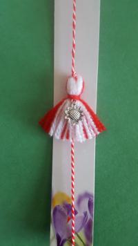 bracelet with martenitsa charm 2020