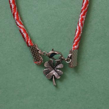 martenitsa bracelet shamrock