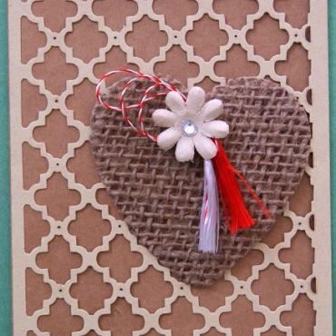 martenitsa card daisy