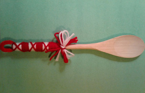 bulgarian crafts wooden spoon
