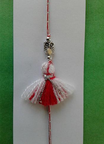 martenitsa bracelet with key charm