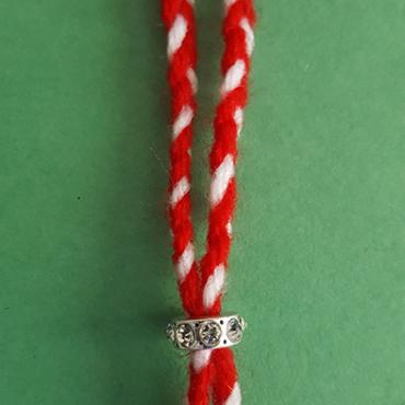 martenitsa bracelet with ring