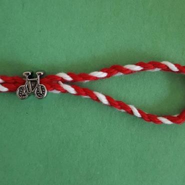martenitsa bracelet bicycle charm 2020