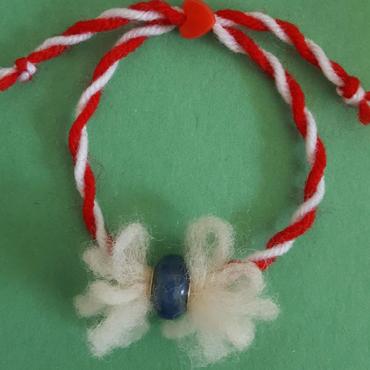 martenitsa bracelet ball wool 2020